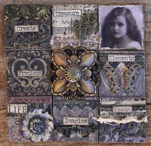 Vintage-Tile Use-Canvas-II